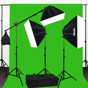 green screen photo booth kit
