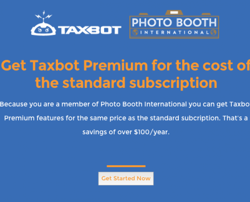 tax software for photo booth