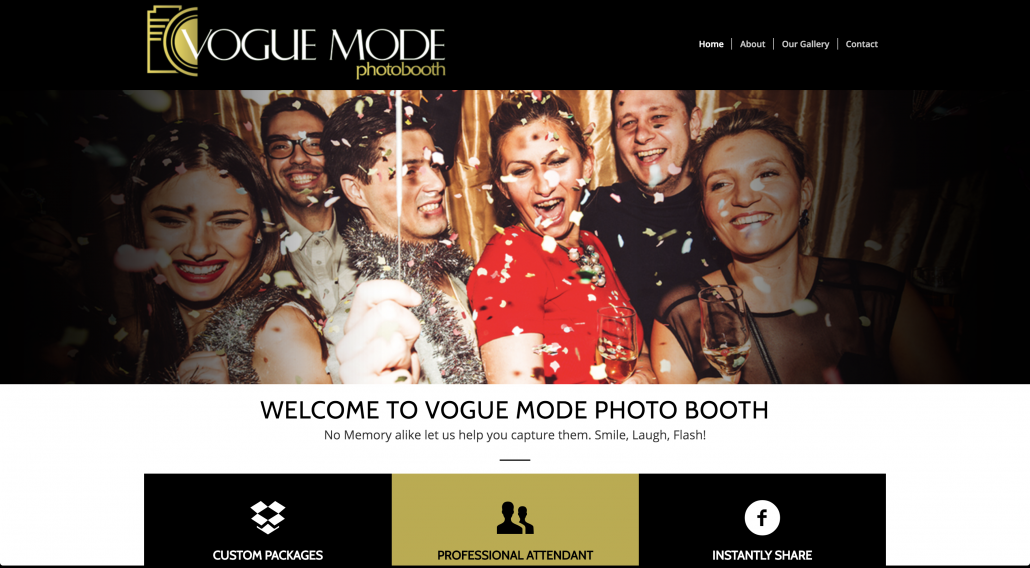 Vogue Mode Photo Booth