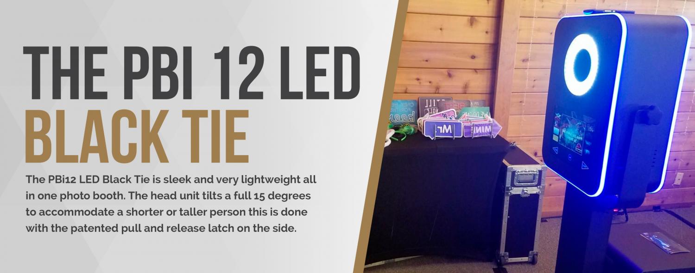 PBI 12 LED Black Tie