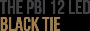 PBI 12 LED Black Tie header