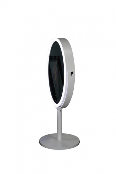 oval mirror portable mirror photo booth