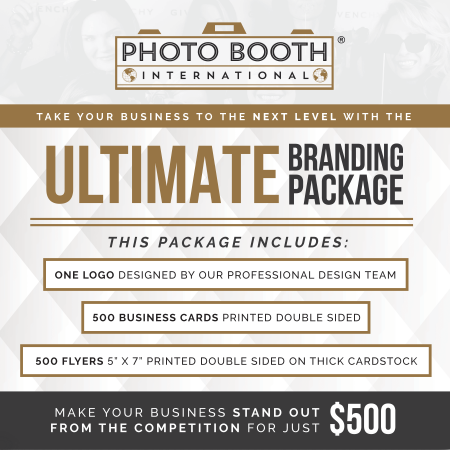 Ultimate Branding photo booth business branding package