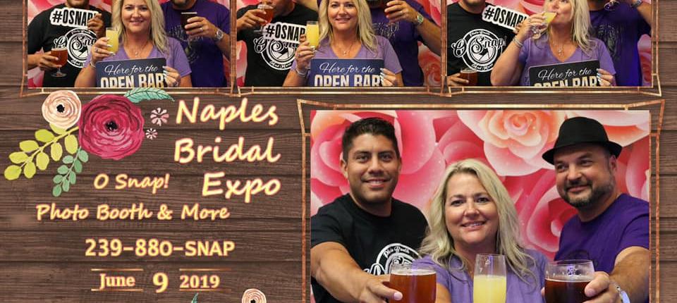o snap's first wedding expo!