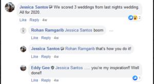 Jessica Santos Big Win - Photo Booth Success Story