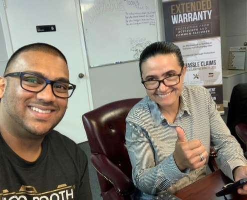 We were joined yesterday by Zoraida who came in for the PBI Experience, welcome to PBIfamily Zoraida