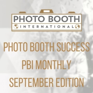 PBI Monthly September photo booth business september