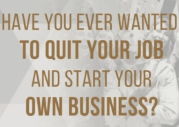 quit your job and start your own business blog post main