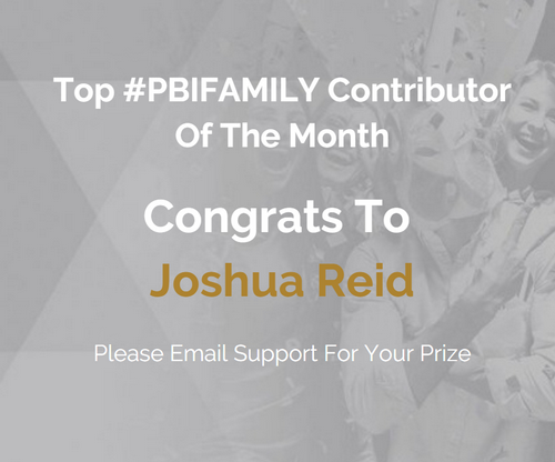 Contributor of The Month Joshua Reid