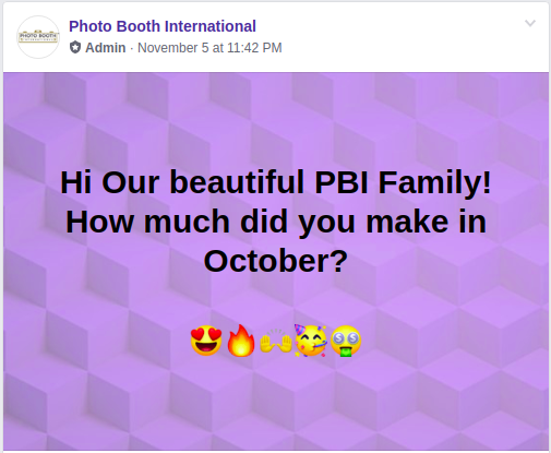 PBI October Earnings