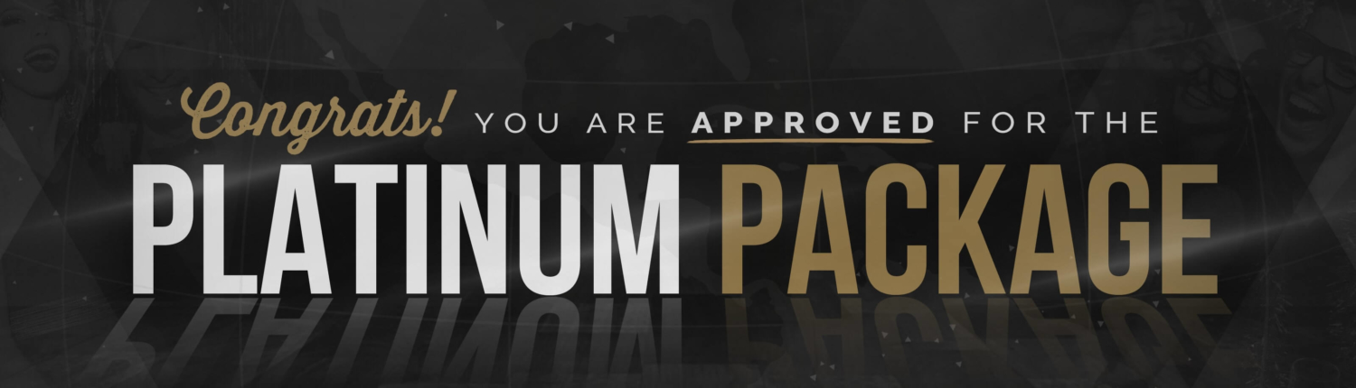 Platinum Package Banner