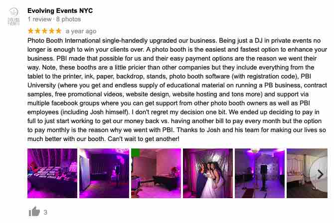 photo booth international reviews