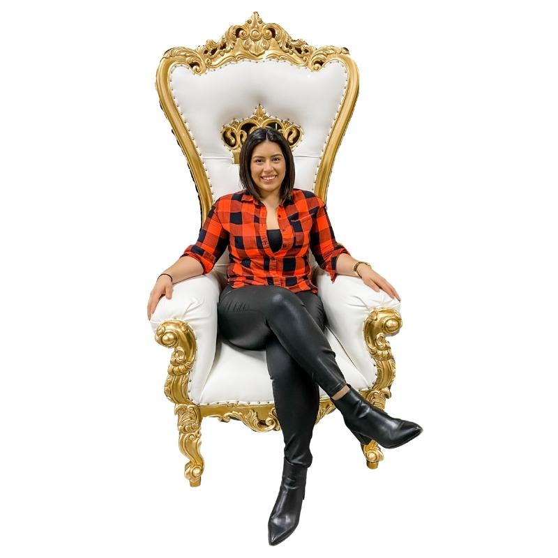 Throne chairs for sale