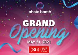 Photo Booth International Grand Opening LIVE STREAM